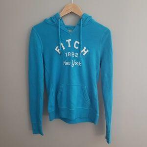 AF teal hoodie